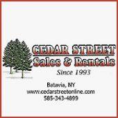 Cedar Street Sales & Rental