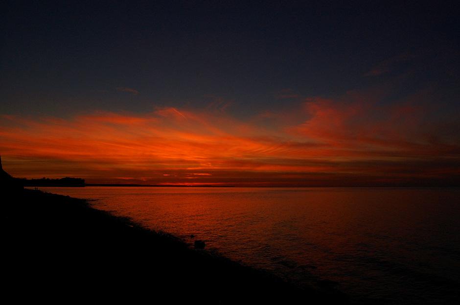 a9b61f4bfdc60 Sunset of the Adirondacks taken by Mr. Ensman